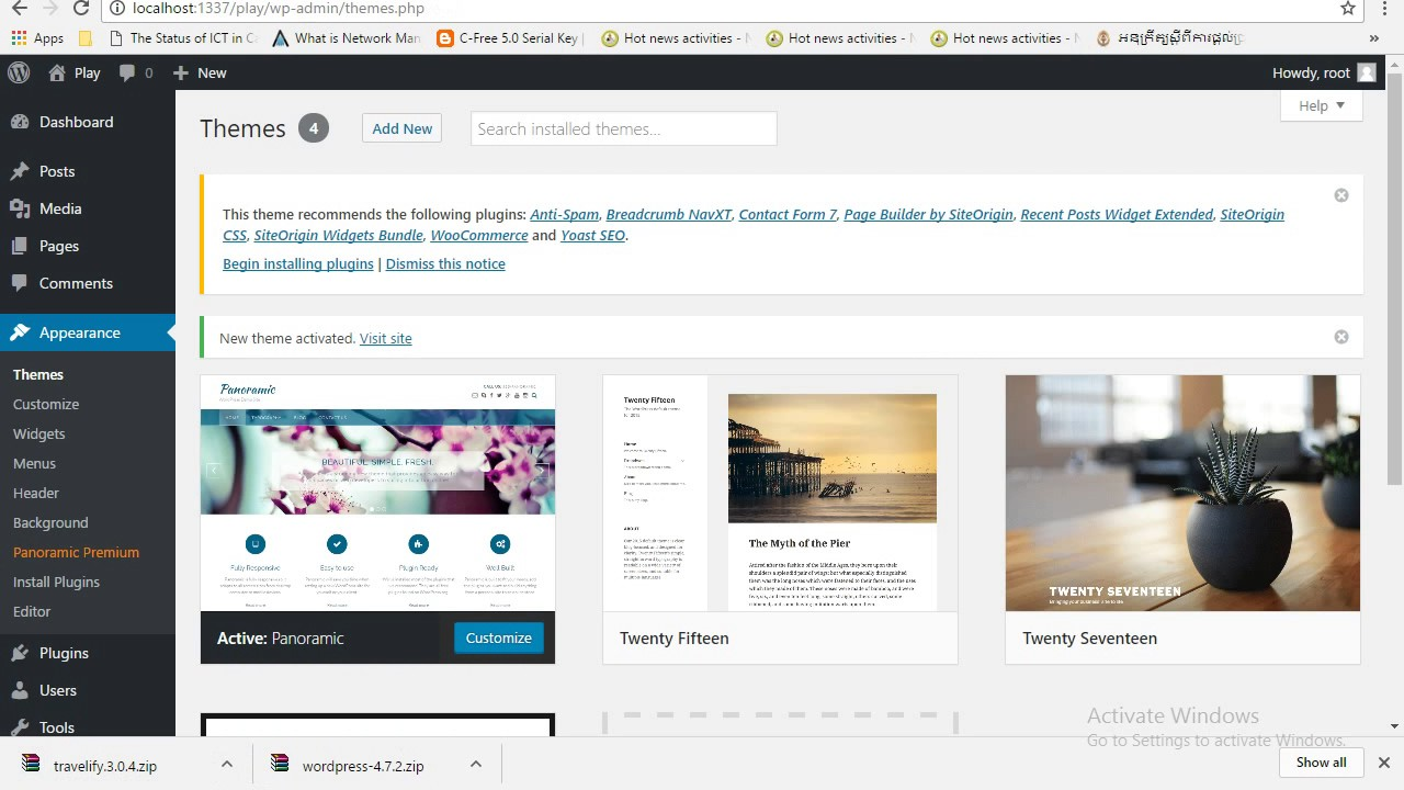 how to edit wordpress templates - how to change download wordpress theme from website