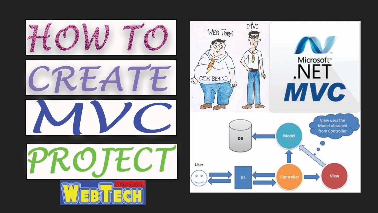 How to create mvc db