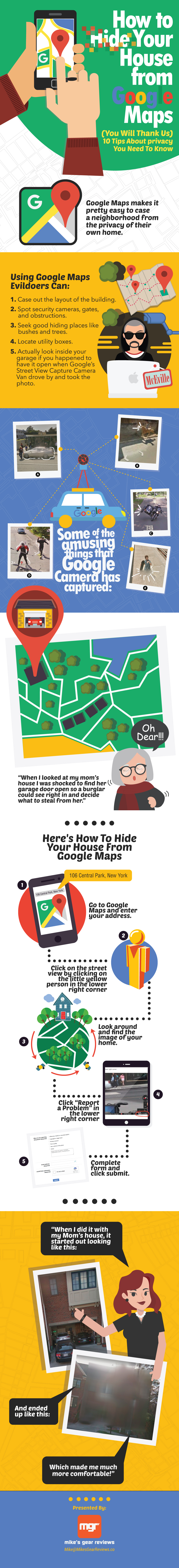 How To Hide Your House From Google Maps