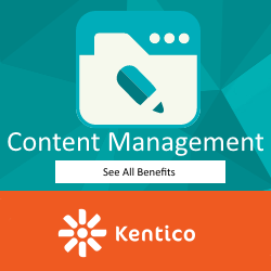 Kentico Integrated Marketing Solutions