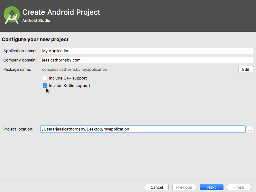 Android Studio 3.0 Kotlin Support