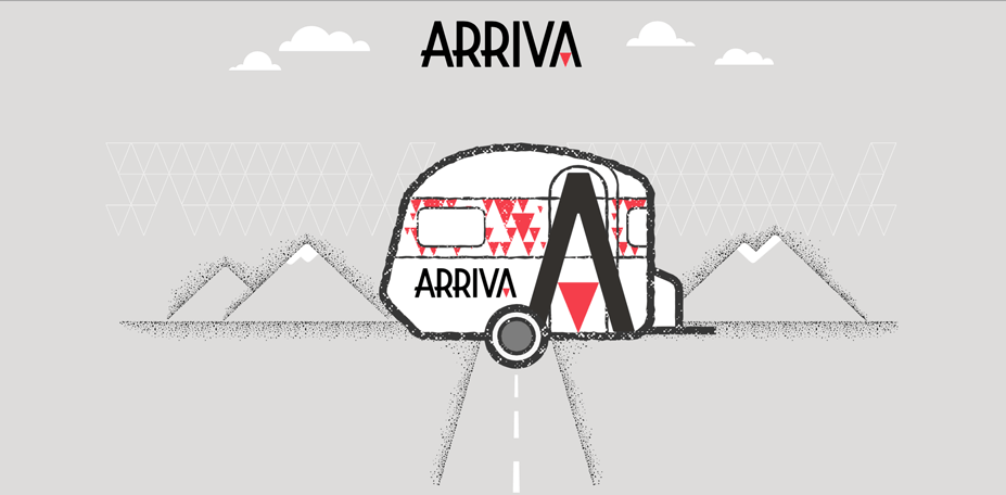 Arriva Website Header