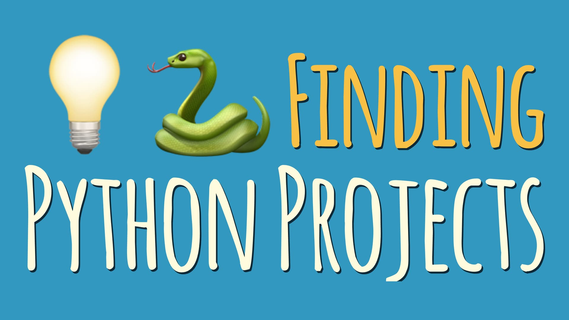 Finding Python Projects